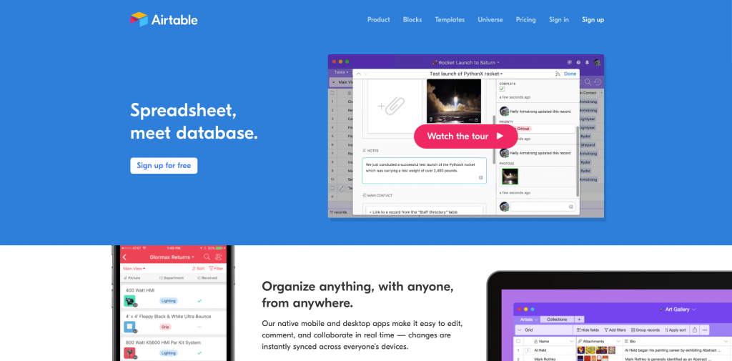 airtable public relations tools